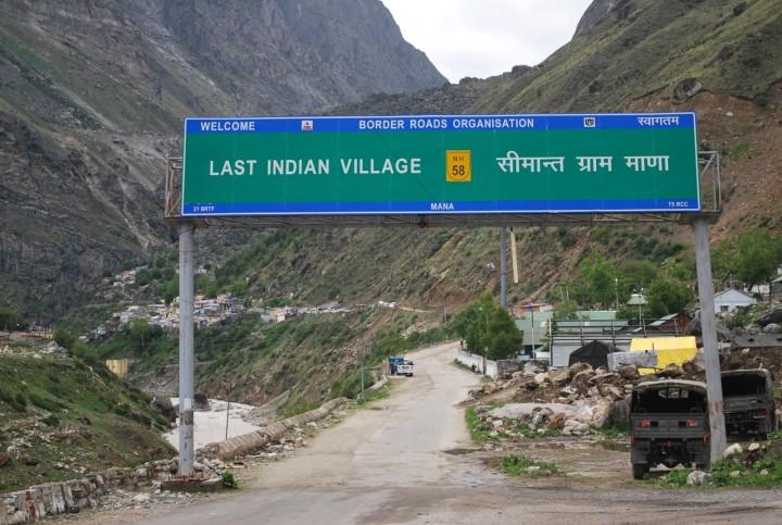 Image result for mana last village